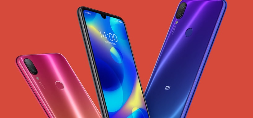 Xiaomi presents the Mi Play, with a Helio P35 and a minimum notch for the mid-range