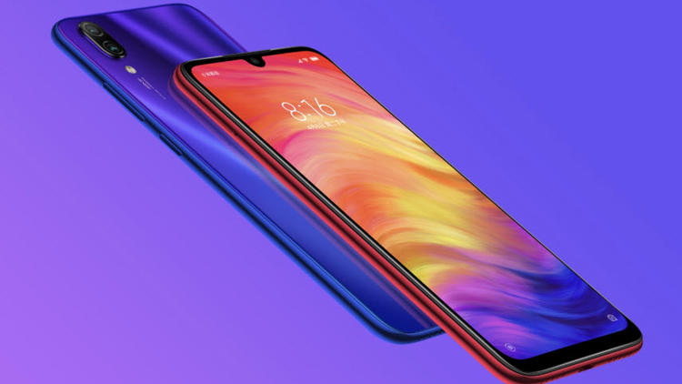 Redmi Note 7 take pictures with the 48