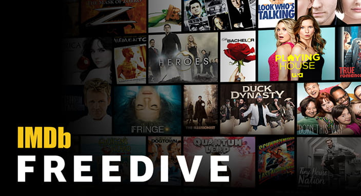 IMDB Launches Free Movie and TV Streaming Service Called Freedive