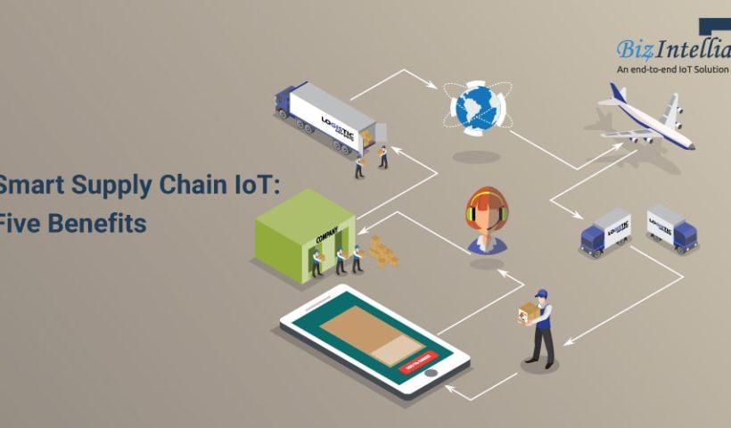 Smart Supply Chain IoT- 5 Benefits