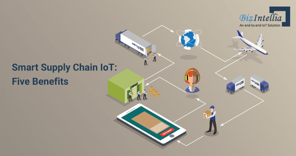 Smart Supply Chain IoT- 5 Benefits