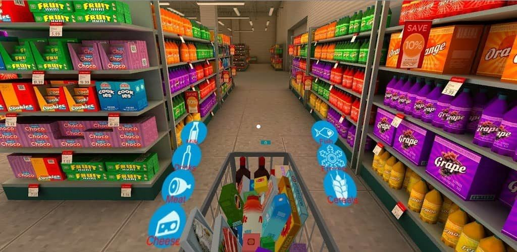 Augmented Reality in Grocery
