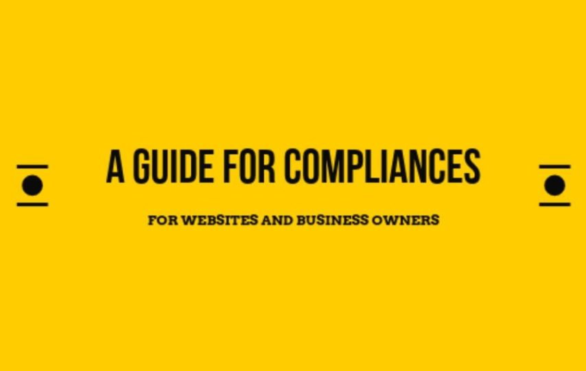 Guide for compliances for website