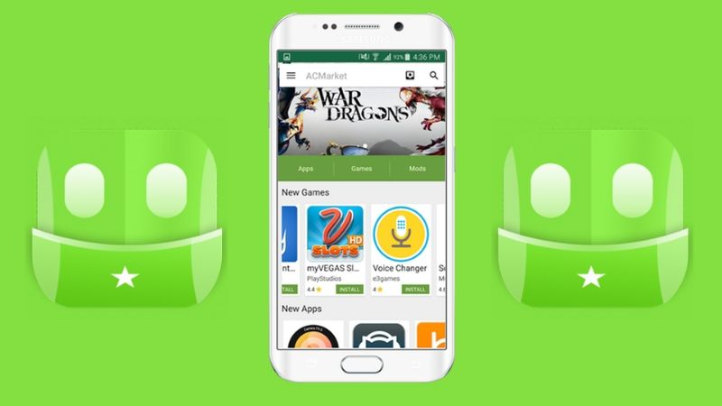 ACMarket app on Android