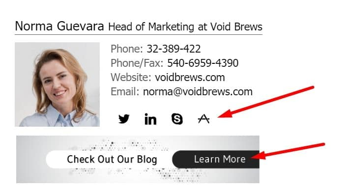 Promote your blog in emails