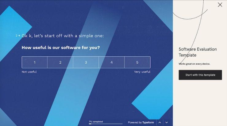 Typeform Survey