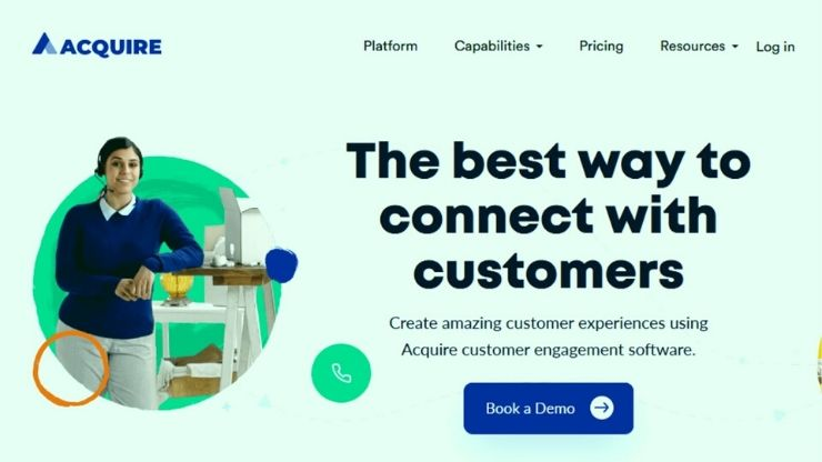 Acquire Customer Engagement Software