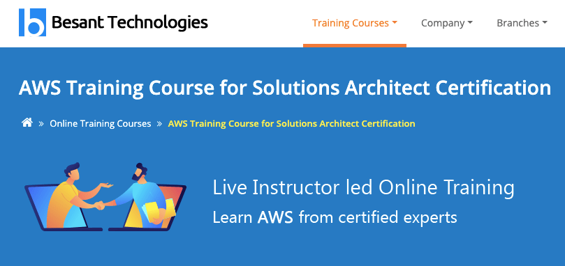 Besant technologies AWS Training