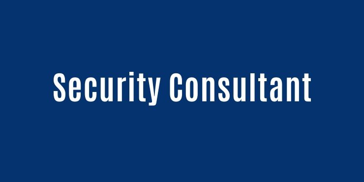 Security Consultant