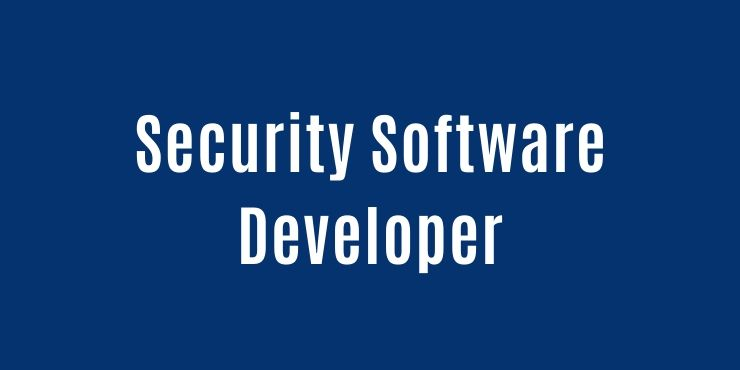 Security Software Developer