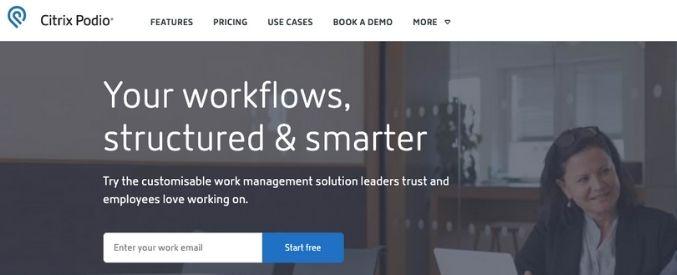 Podio project management