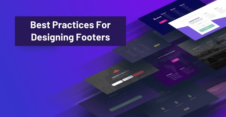 Best Practices For Designing Footers