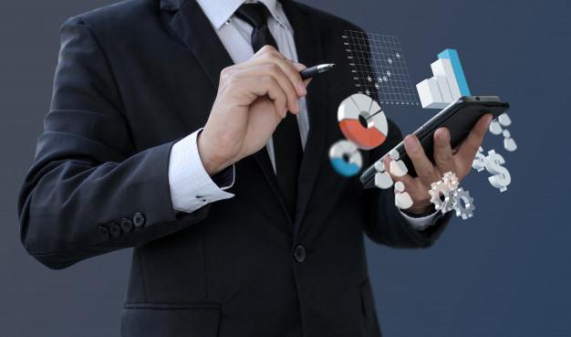 Businessman-Analytics-Information