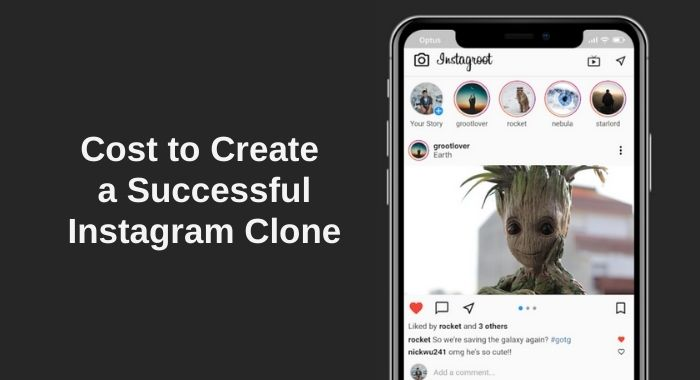 Cost to Create Instagram Clone