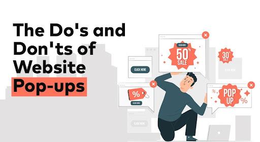 Website Pop-ups